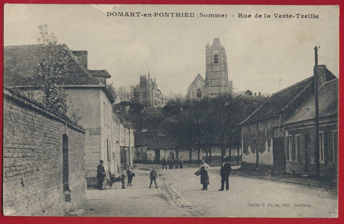 cpa-domart-en-ponthieu-somme-rue-verte-treille