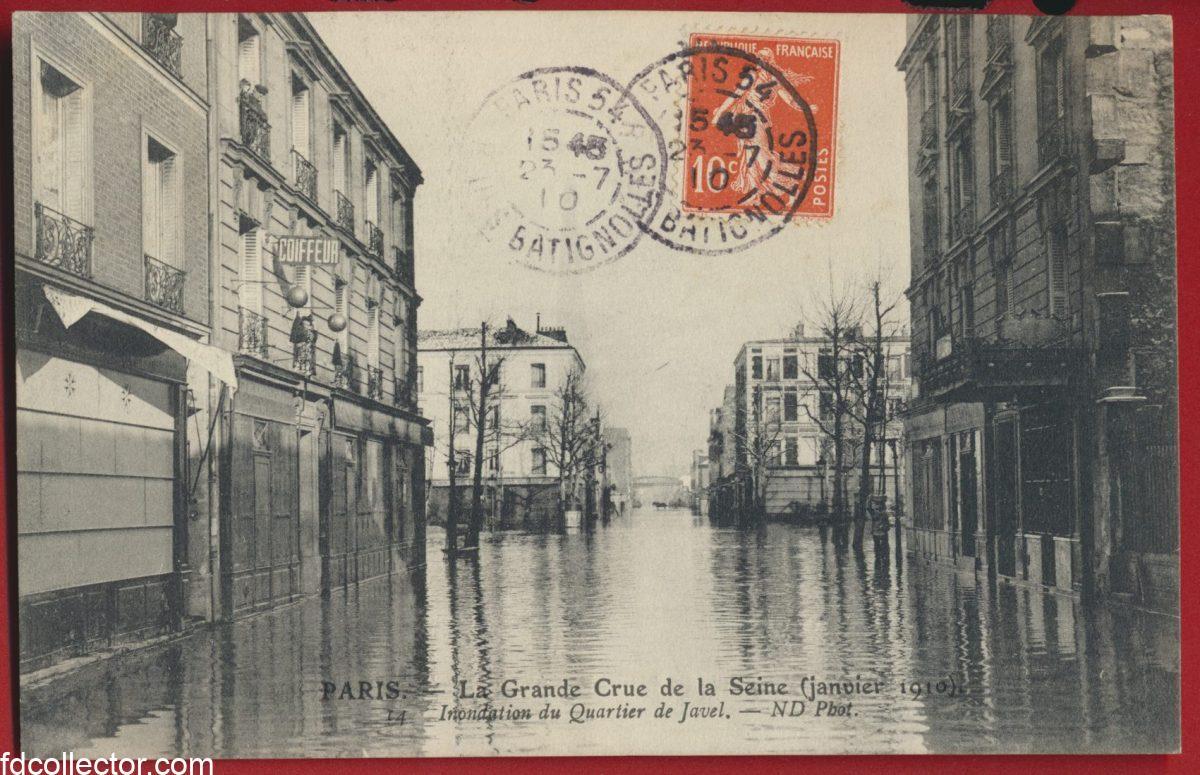 cpa-grande-crue-seine-paris-janvier-1910-inondation-quartier-javel