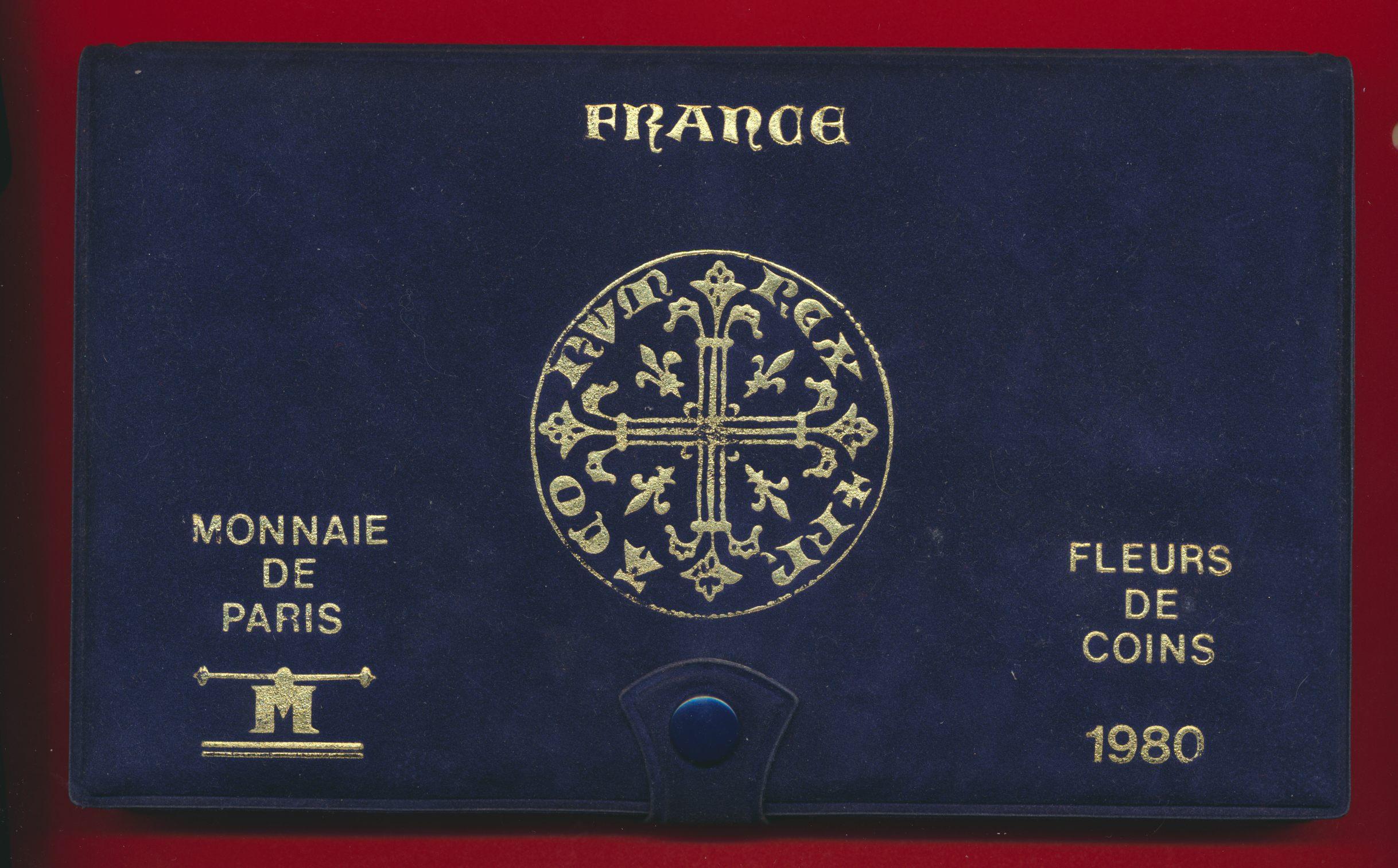 fdc-fleur-coin-1980-notice-monnaie-paris-coffret