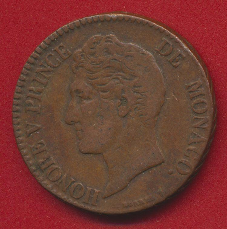monaco-cinq-centimes-1837-mc-honore-avers