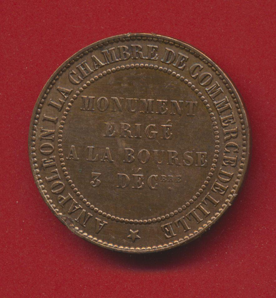 Monnaie de visite napol on iii chambre commerce de for Chambre de commerce guadeloupe