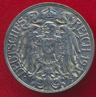 allemagne-25-pfennig-1910-d-vs