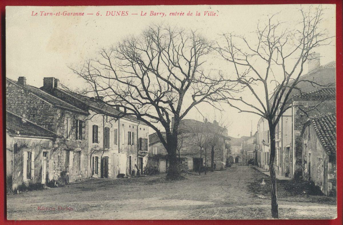 cpa-dunes-barry-entree-ville-tarn-garonne