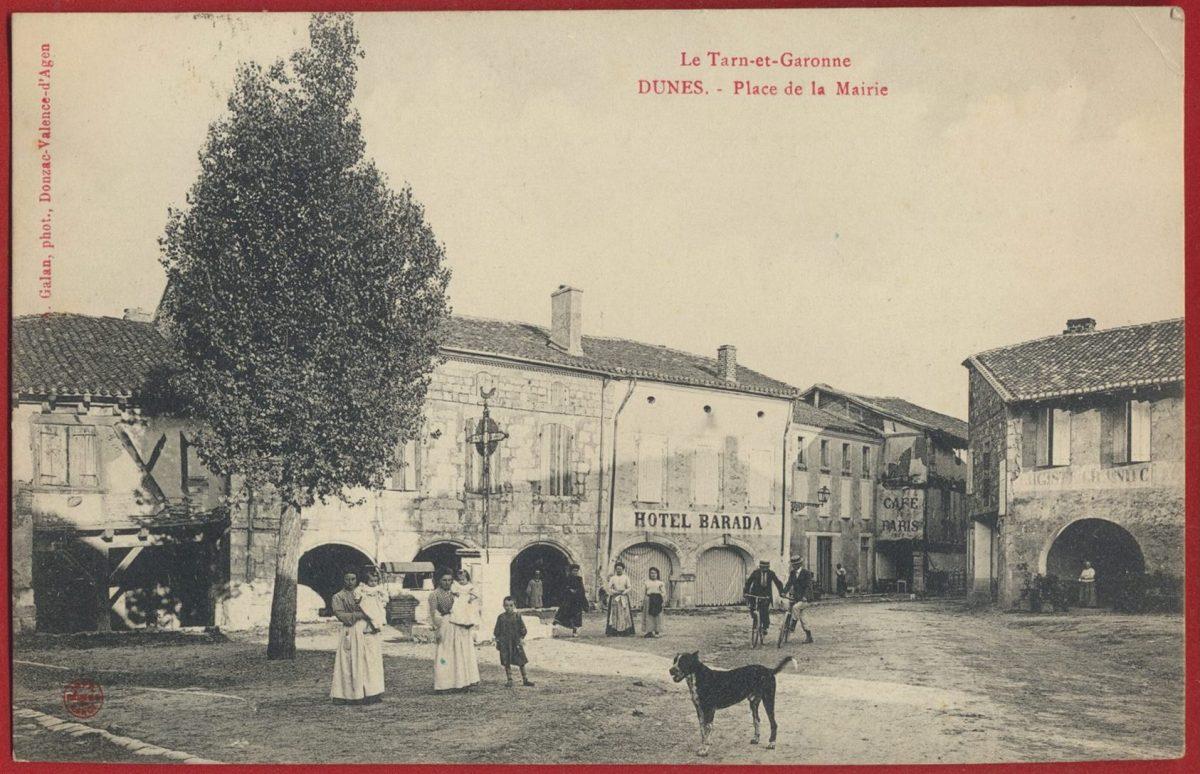 cpa-dunes-place-mairie-tarn-garonne