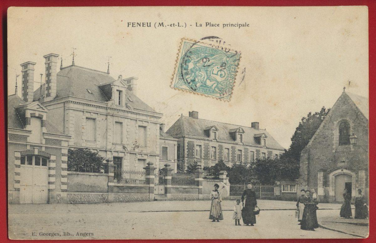 cpa-feneu-place-principale