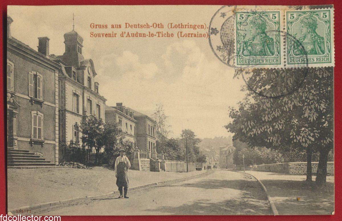 cpa-gruss-deutsch-oth-souvenir-lothringen-audun-tiche-lorraine