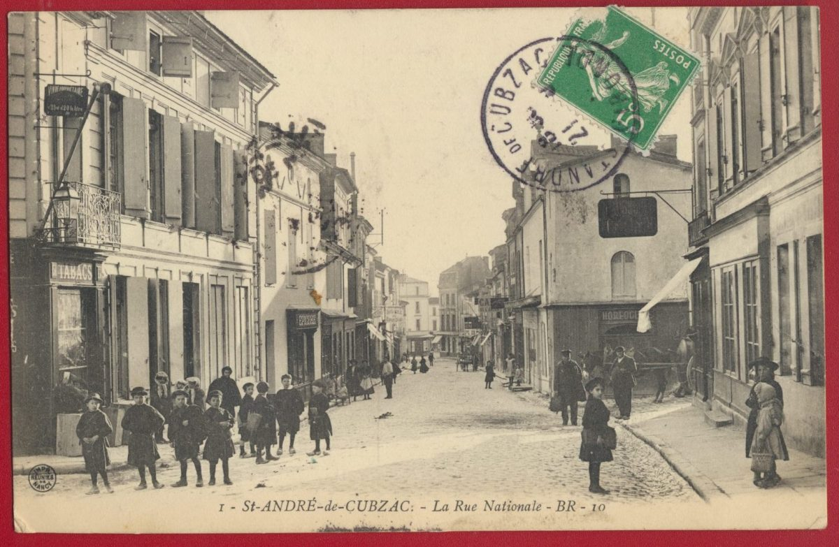 cpa-saint-andre-cubzax-rue-nationale-gironde