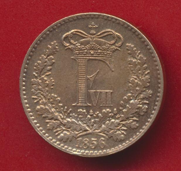 danemark-rigsmont-skilling-1856-avers