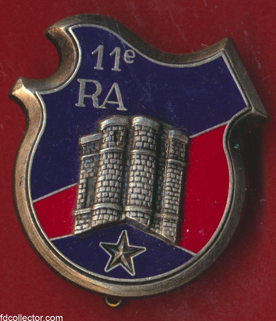 insigne-11-regiment-artillerie