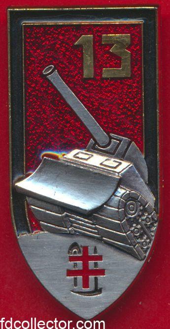 insigne-13-regiment-genie-treves-arthus-bertrand-avec-homologation-a