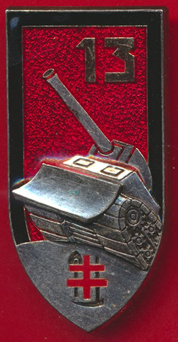 insigne-13-regiment-genie-treves-arthus-bertrand-sans-homologation-a