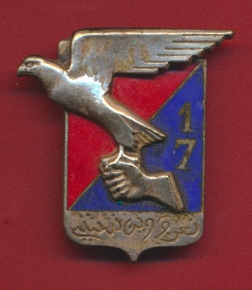 insigne-17-regiment-artillerie-face