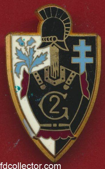 insigne-2-regiment-genie-metz