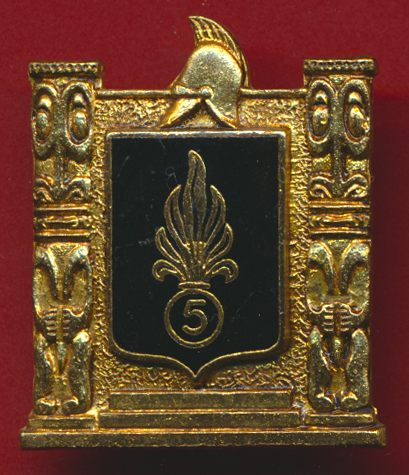 insigne-5-regiment-etranger-genie-pacifique