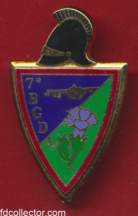 insigne-7-bataillon-genie-division-alpine-avignon-vs