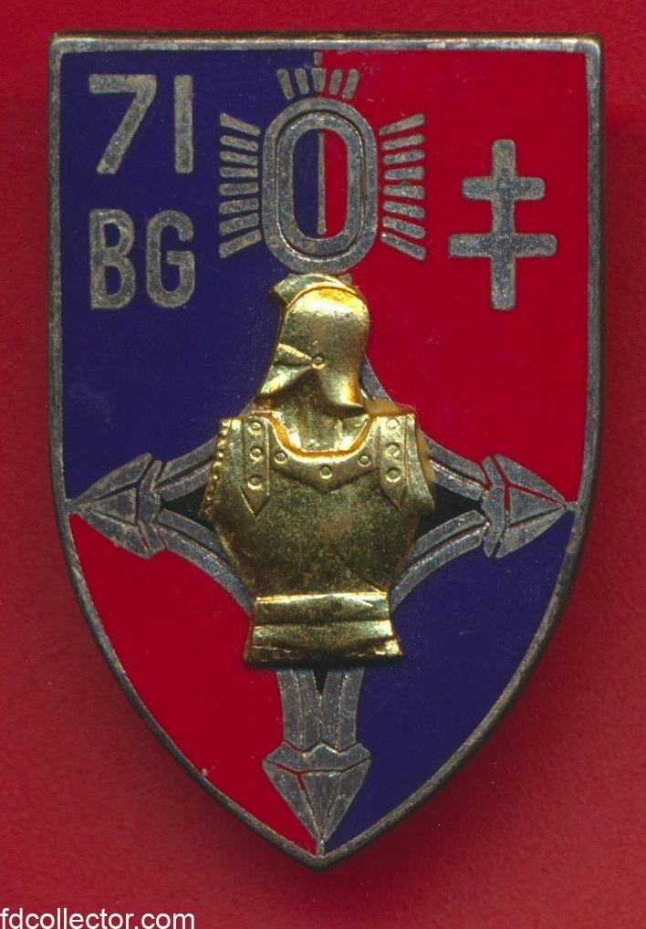 insigne-71eme-bataillon-genie-drago-algerie-paris