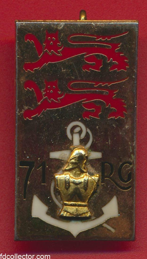 insigne-71eme-regiment-genie-oissel-rouen