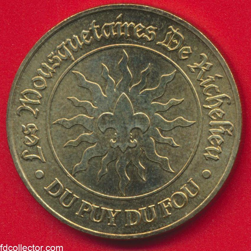 medaille-monnaie-paris-puy-du-fou-richelieu-mousquetaires-2007