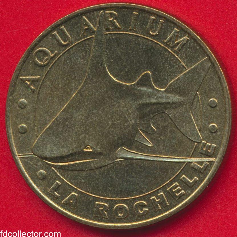 medaille-monnaie-paris-rochelle-aquarium-requin-gris-2003