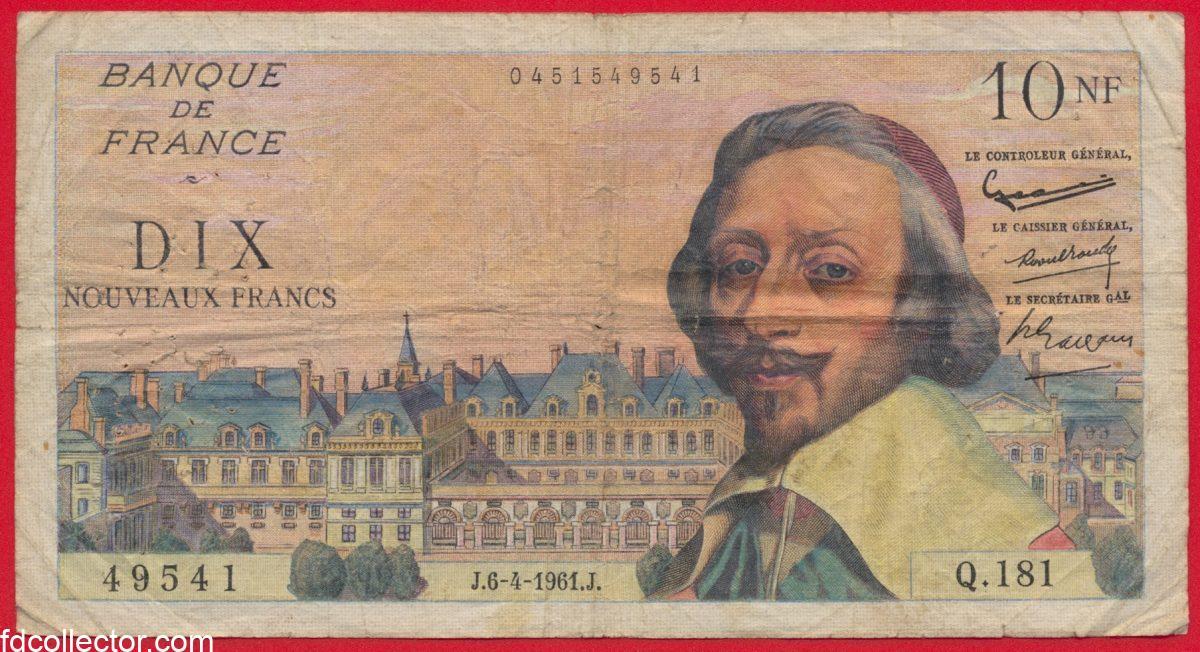 10-nouveaux-francs-richelieu-6-4-1961-nf-49541