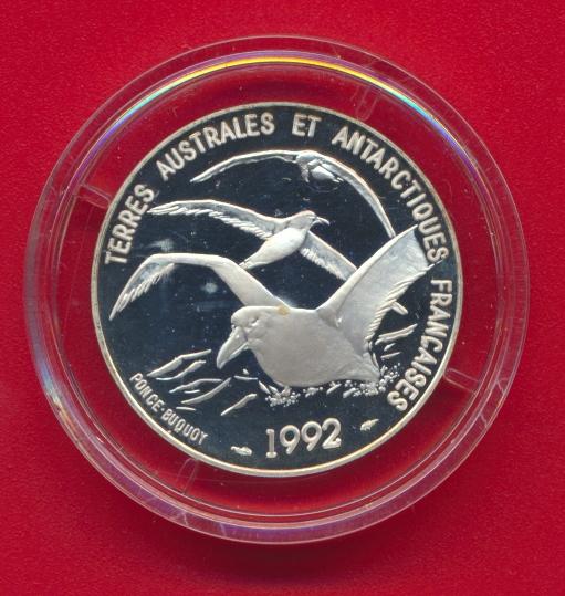5-francs-terre-adelie-dumont-durville-terres-australes-antarctiques-francaise-1992