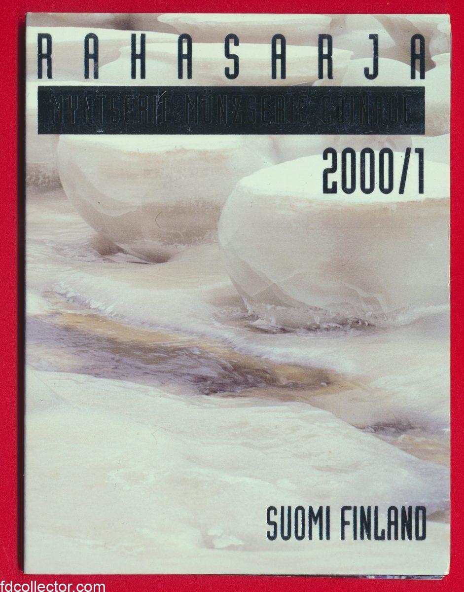 coffret-set-monnaies-finlande-2000-suomi-finland-rahasarja