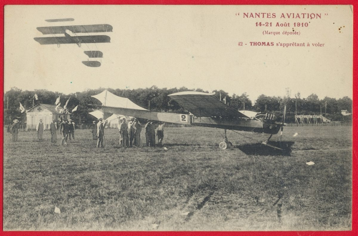 cpa-nantes-aviation-aout-1910-thomas-appretant-voler