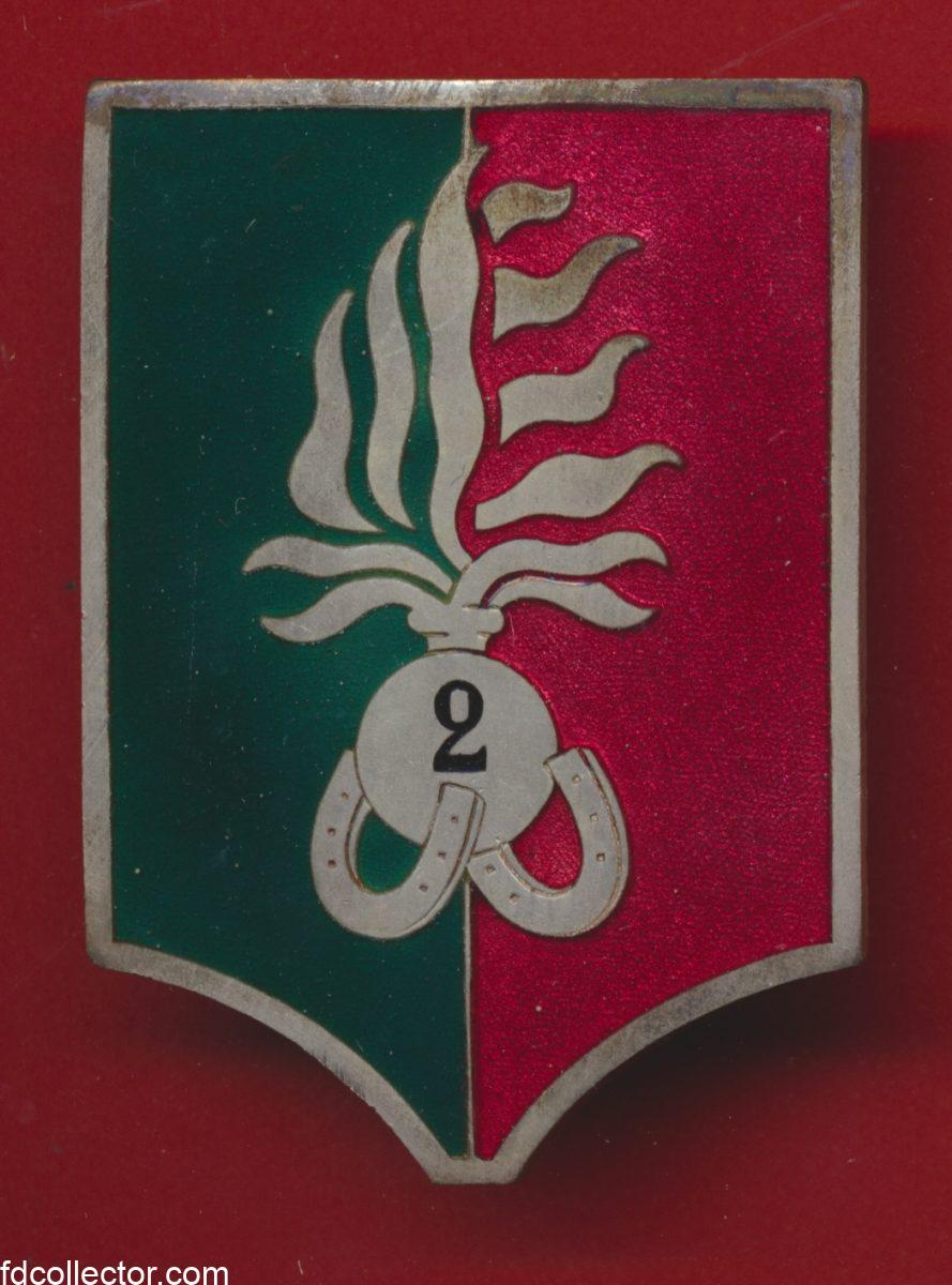 insigne-2-regiment-etranger-legion-etrangere-compagnie-portee