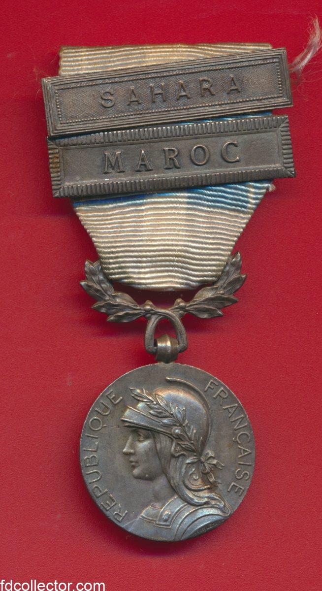 medaille-coloniale-agrafe-maroc-sahara