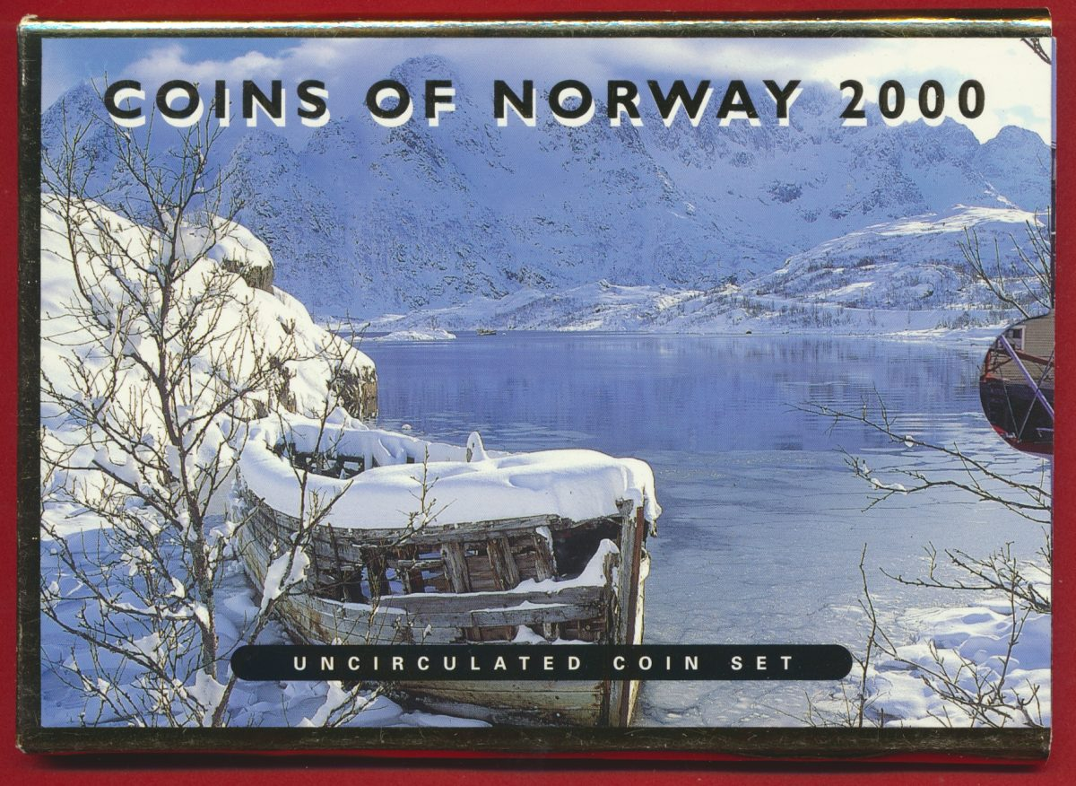 set-coin-norvege-norway-2000-5