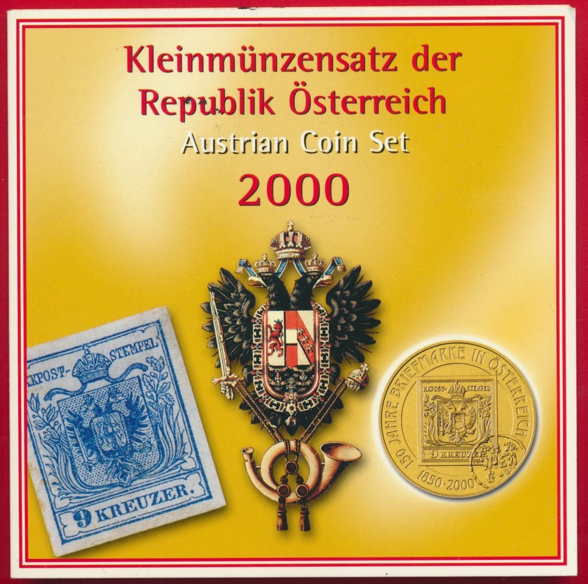 set-coin-osterreich-autriche-2000-austrian