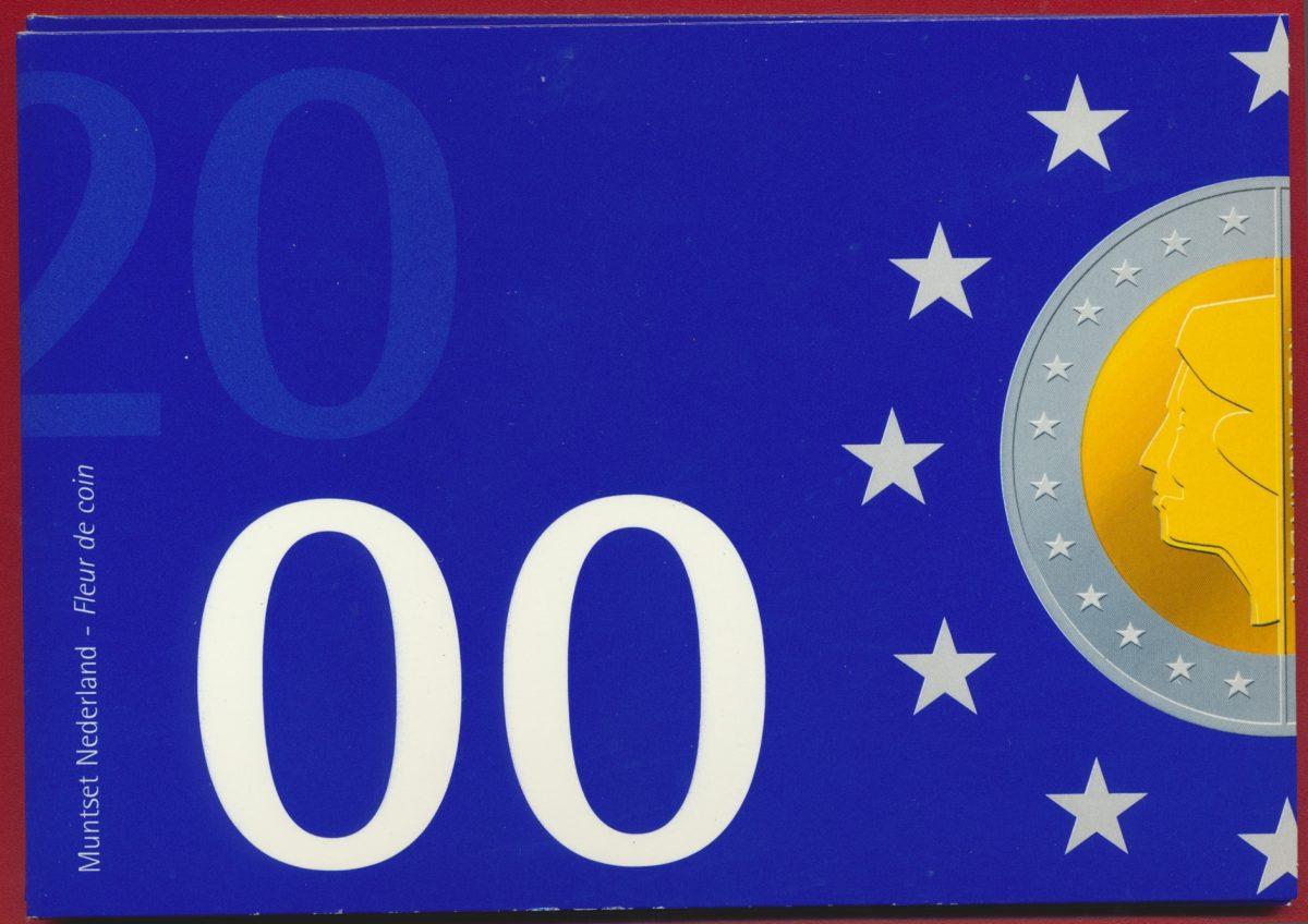 set-pays-bas-netherlands-nederland-2000-coin-monnaies
