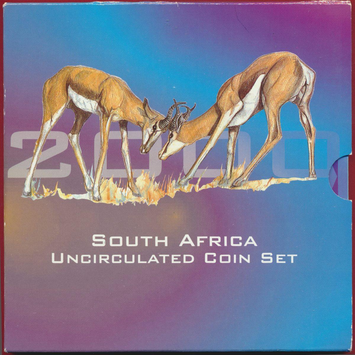 set-south-africa-afrique-sud-2000-coin-monnaies