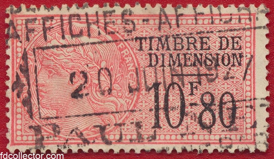 timbre-fiscal-fiscaux-dimension-10-francs-80