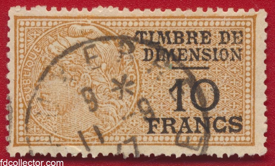 timbre-fiscal-fiscaux-dimension-10-francs