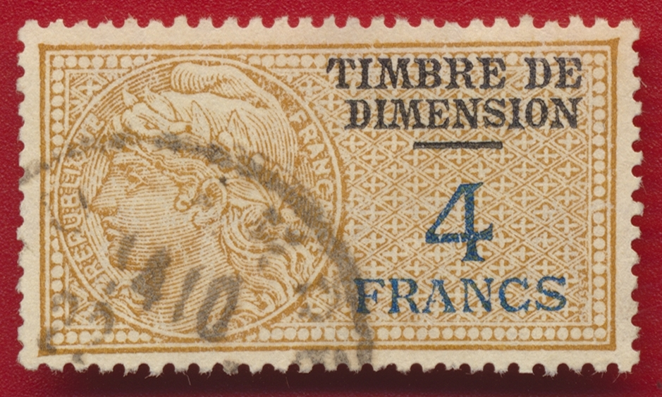 timbre-fiscal-fiscaux-dimension-4-francs-at37