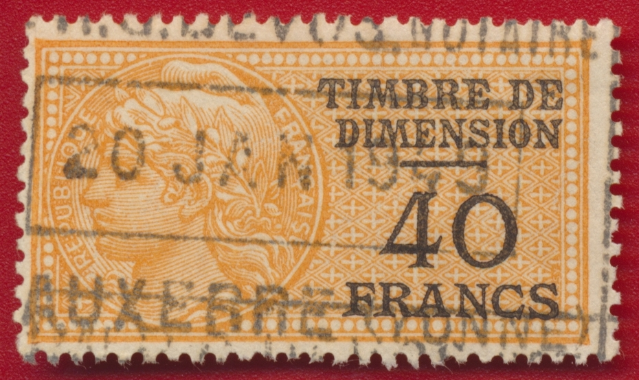timbre-fiscal-fiscaux-dimension-40-francs