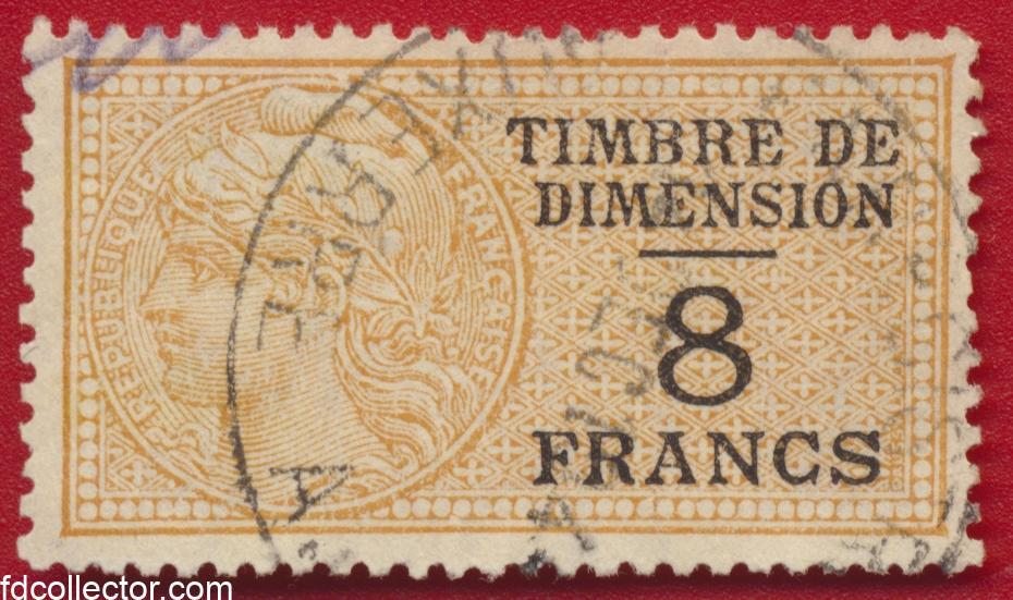 timbre-fiscal-fiscaux-dimension-8-francs