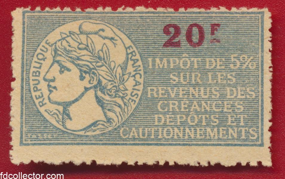 timbres-fiscaux-20-francs-impot-revenus-creances-depots-cautionnements