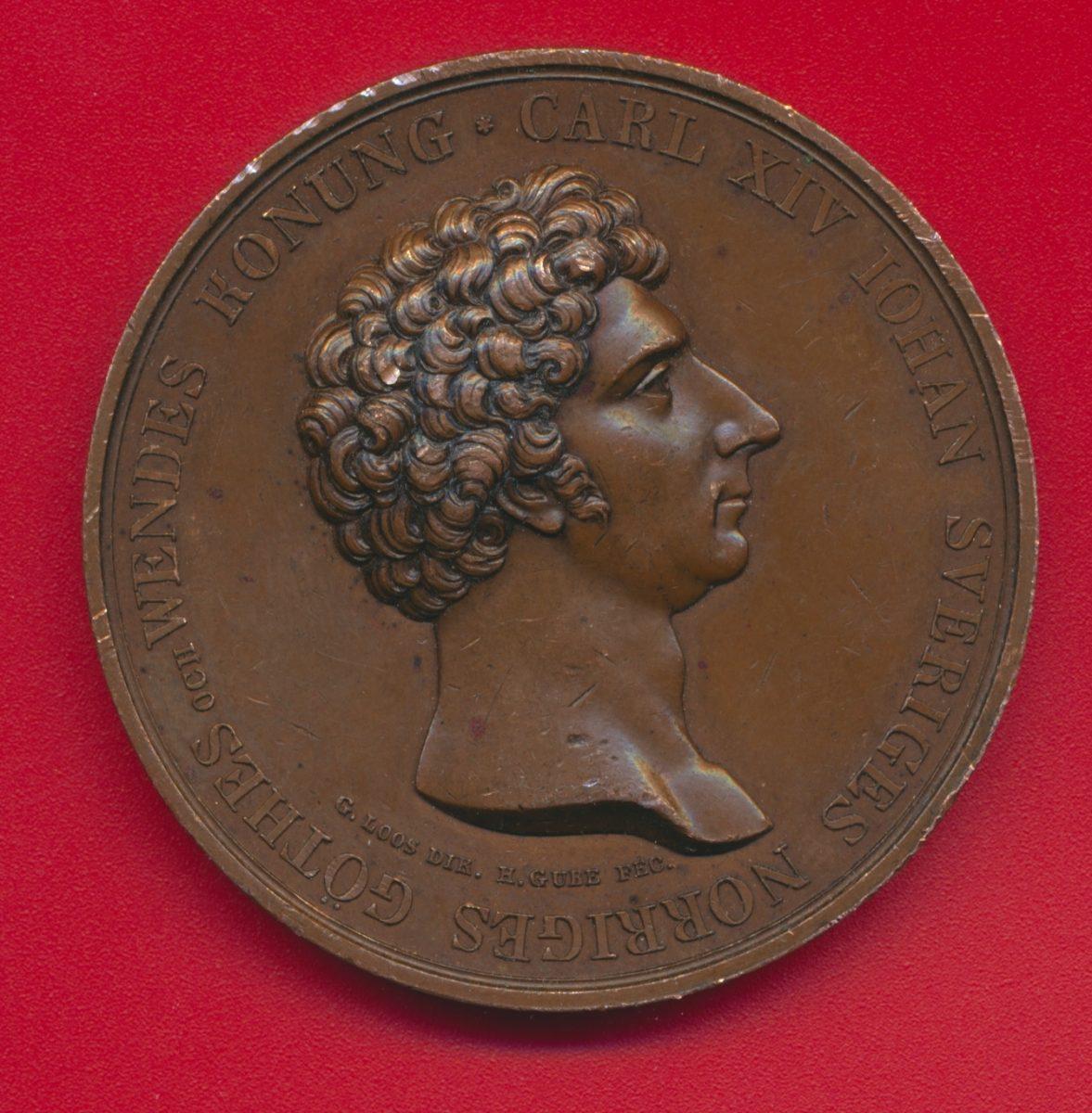 medaille-carl-xiv-iohan-sveriges-norriges-goethes-wendes-konung