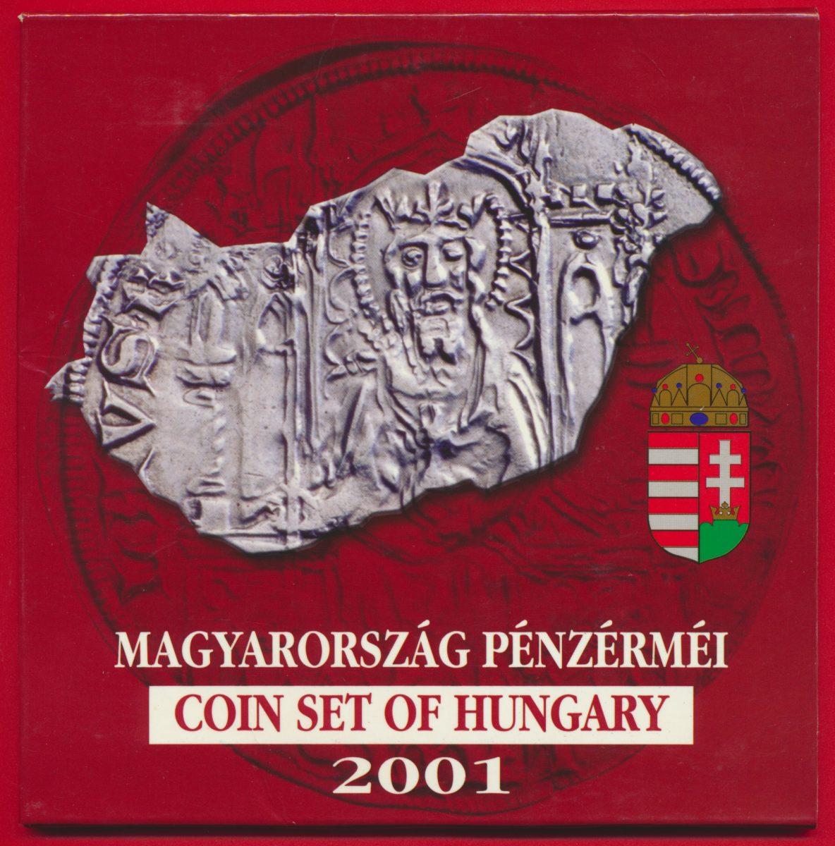 set-coin-hongrie-hungary-2001-magyarirszag-penzermei
