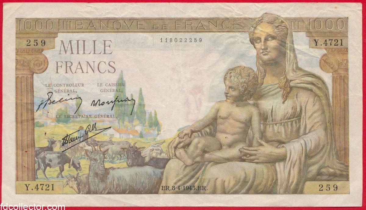 1000-francs-demeter-8-4-1943-259