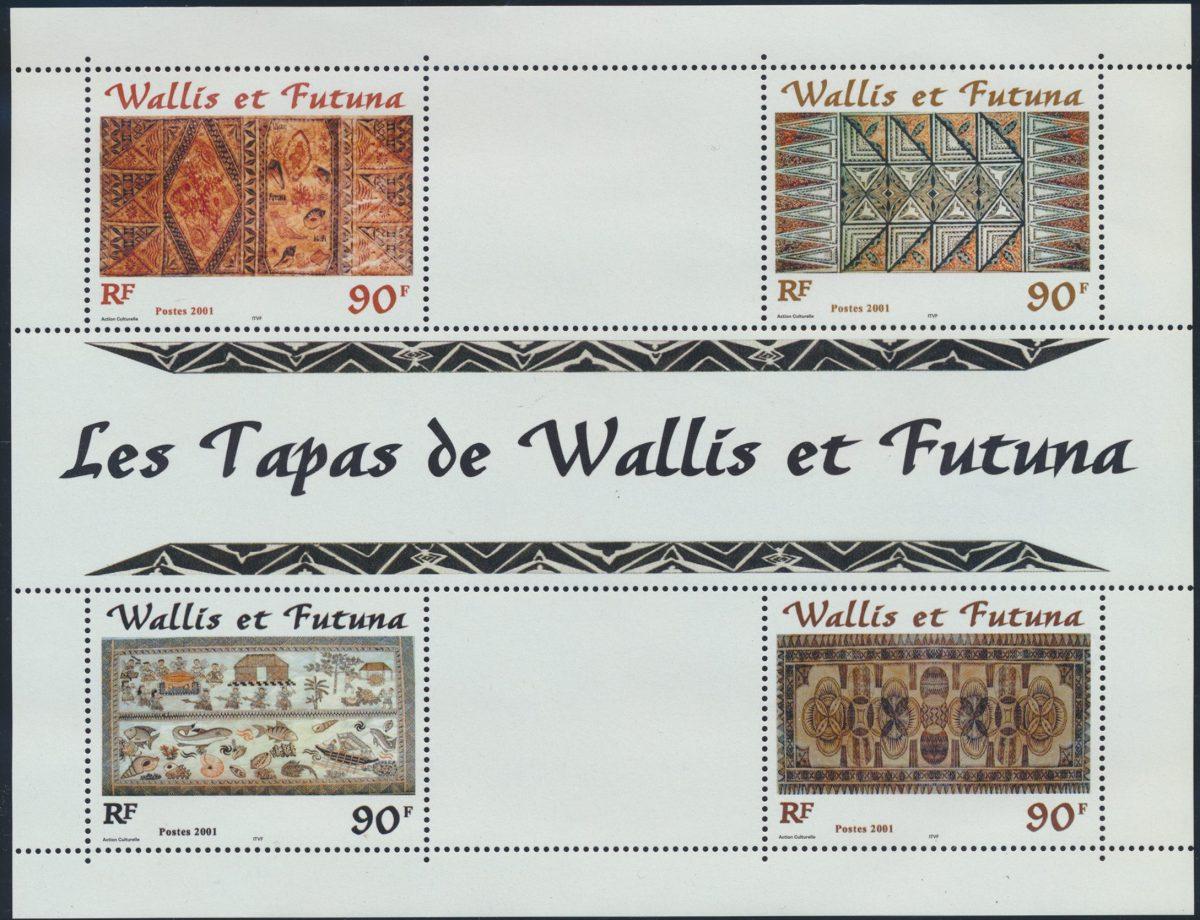 bloc-wallis-et-futuna-tapas-2001