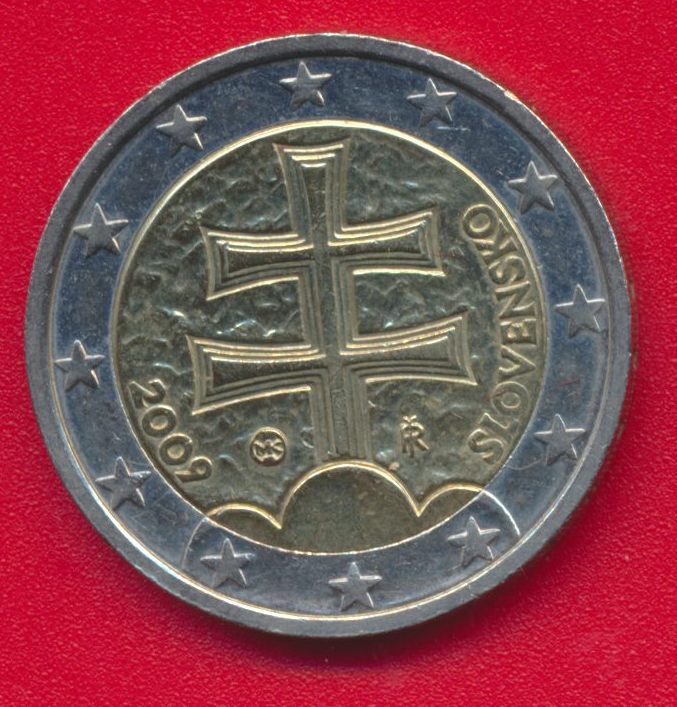 2-euro-commemorative-slovaquie-2009