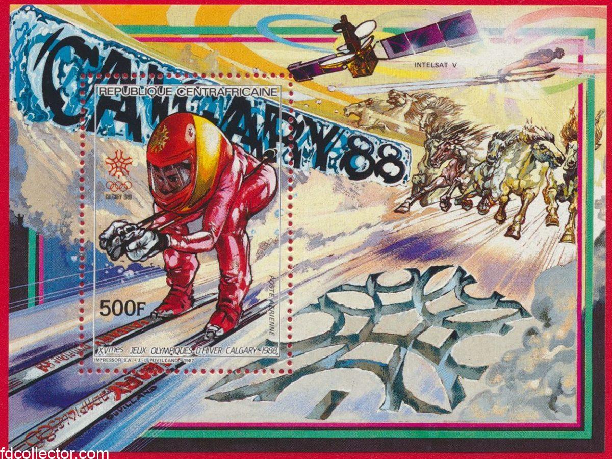 bloc-centrafrique-500-francs-jeux-olympiques-calgary-1988