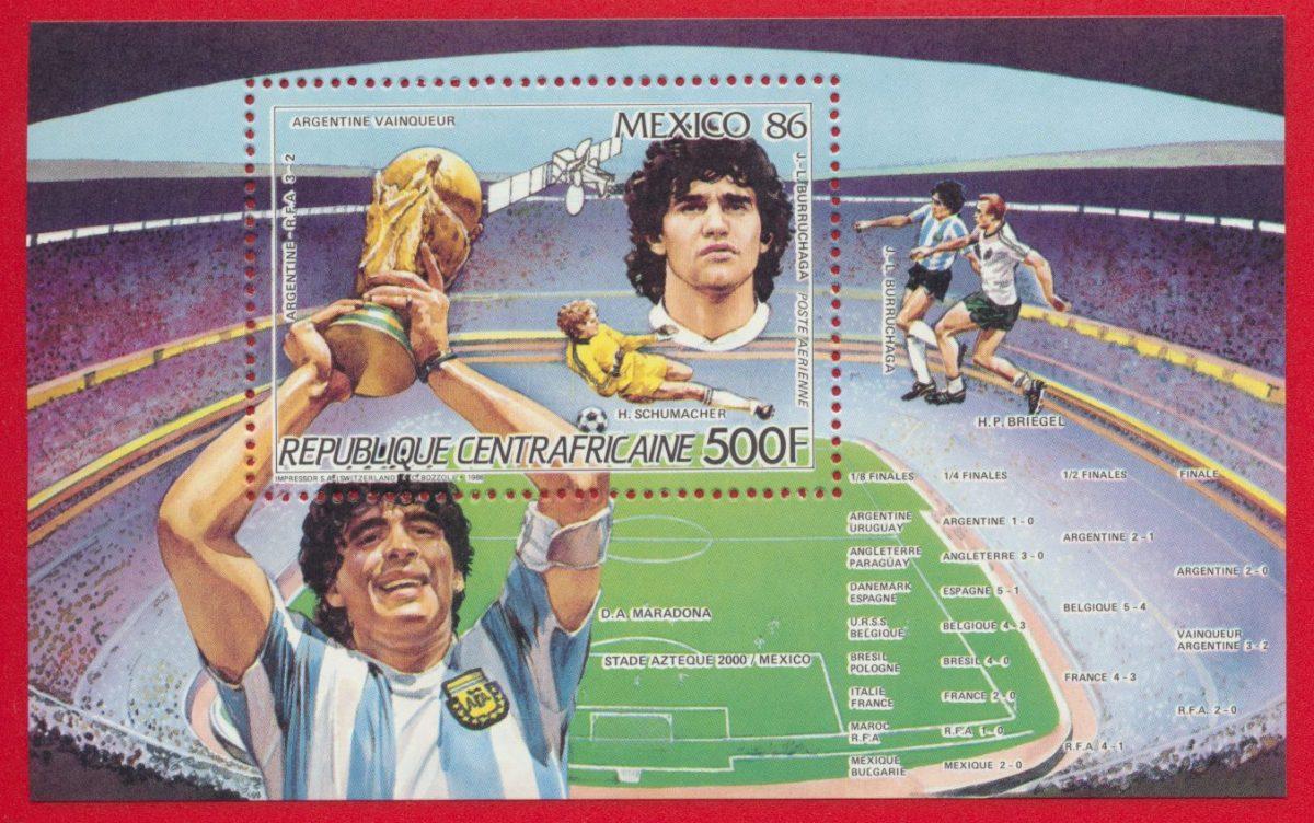 bloc-republique-centrafricaine-argentine-vainqueur-coupe-monde-1986-diego-maradona