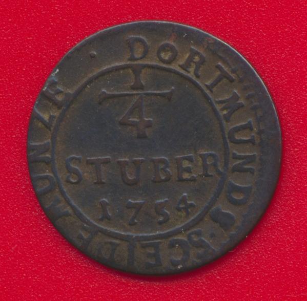 Afbeeldingsresultaat voor 1/4 stuber dortmund 1754