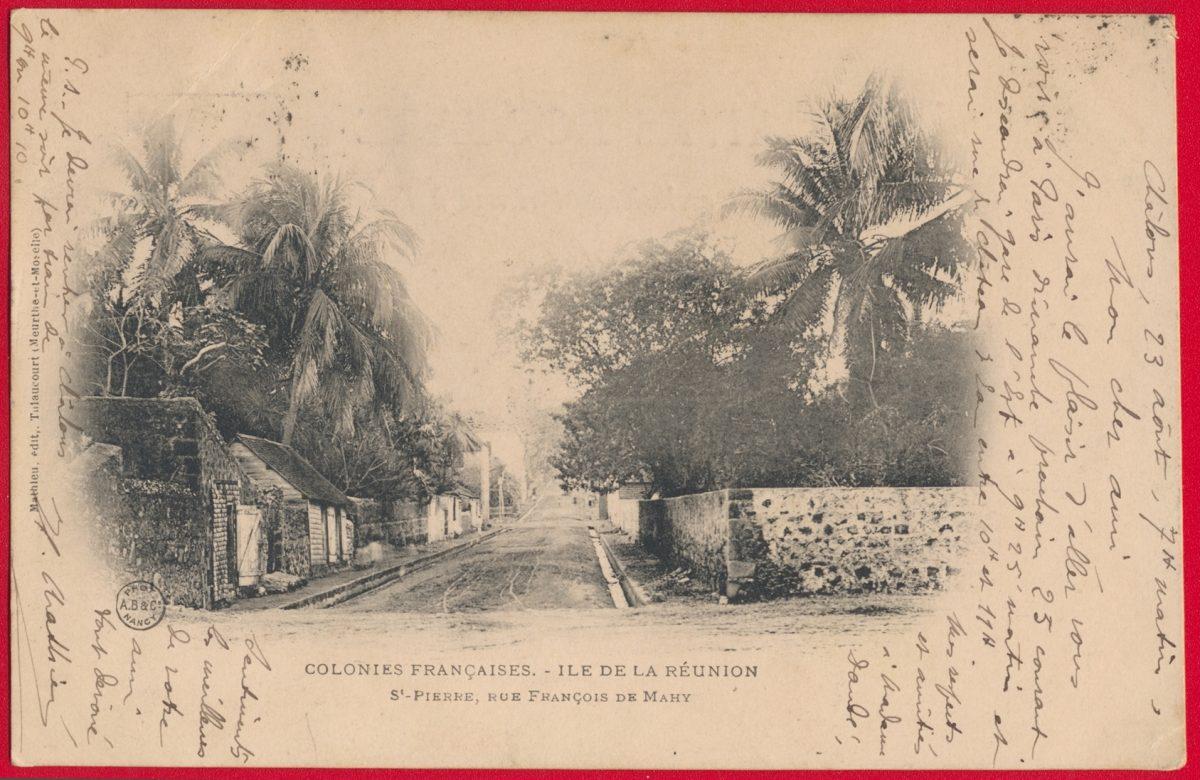 cpa-saint-pierre-ile-reunion-colonies-francaises-rue-francois-mahy