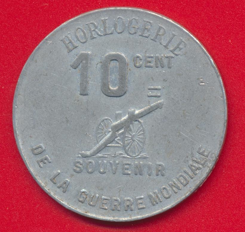 plantier-boissonnet-sidi-bel-abbes-1914-1918-horlogerie-souvenir-10-cent-guerre-mondiale