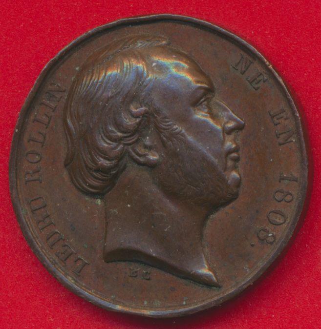medaille-ledru-rollin-gouvernement-provisoire-1848-proclamation-suffrage-universel